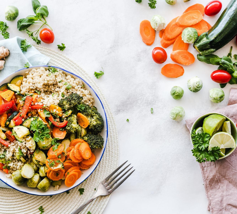 Salad & grain bowl.