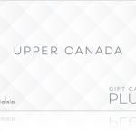 An Upper Canada gift card.