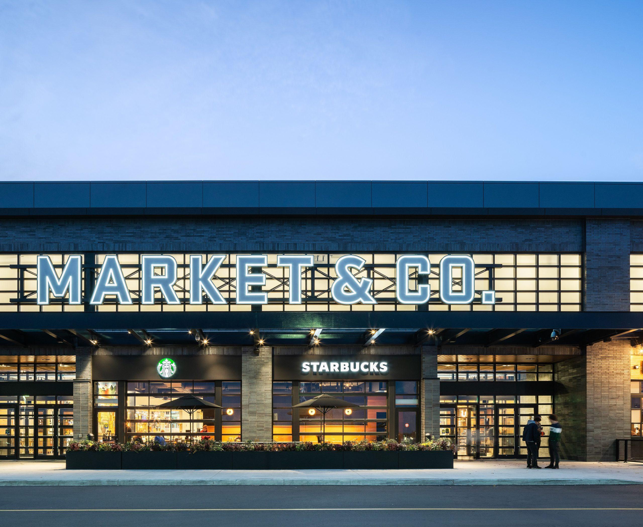market and co exterior entrance